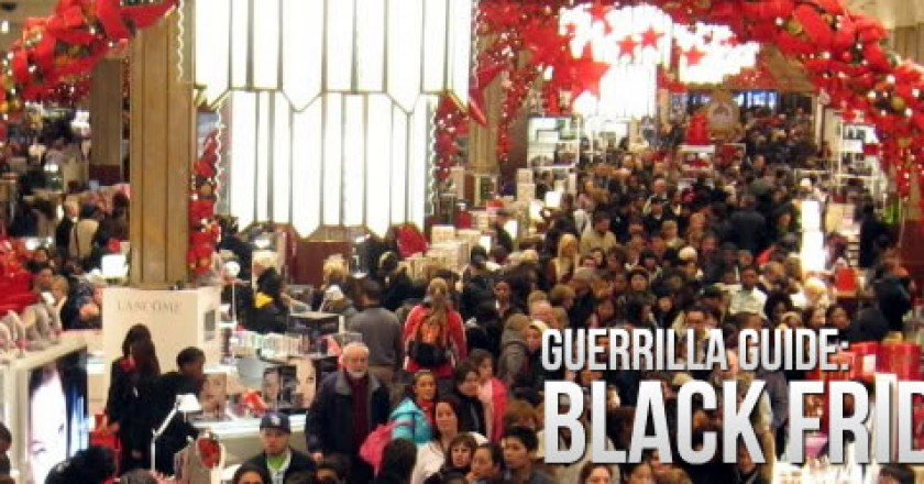 Guerrilla Guide to Black Friday: Tips for Getting the Best Deals