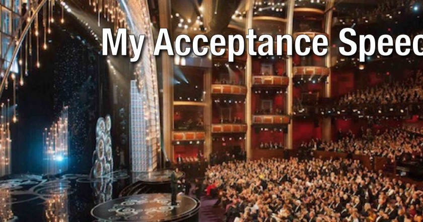 My Acceptance Speech